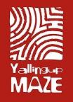 Yall Maze Logo white reverse